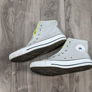Converse Chucks All-stars Gray Neon 4 6